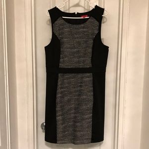 ELLE Size 16 Sleeveless Panel Cocktail Dress
